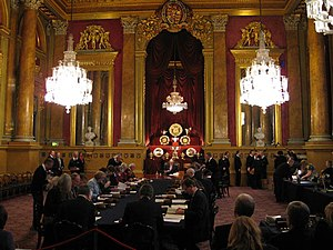 Trial of the Pyx - Trial of the Pyx in the Livery Hall at Goldsmiths' Hall