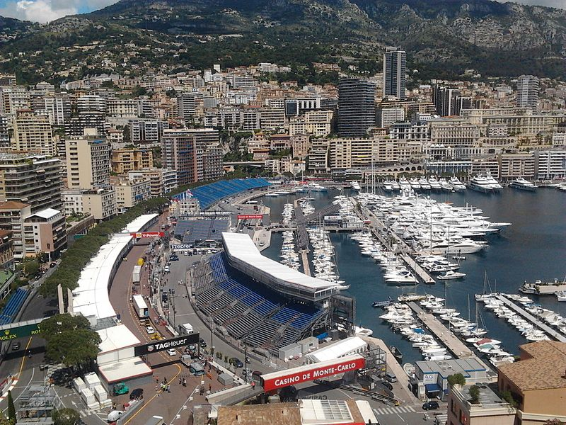 File:The Montecarlo's harbour during the days of Formula 1 Monaco GP 2013.jpg