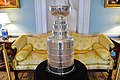 The NHL's Stanley Cup is on Display at the State Luncheon in Honor of Canadian Prime Minister Trudeau (25588103321).jpg