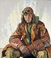 The Nco Pilot, Rfc. (flight Sergeant W G Bennett) Art.IWMART2397.jpg