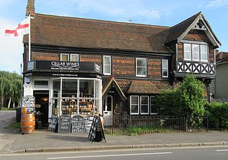 Ripley, Surrey - Cellar Wines now resides there