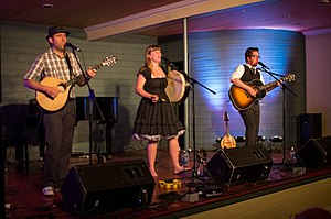 The Once - The Once performing at Woody Point in 2012