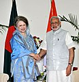 The Prime Minister, Shri Narendra Modi meeting the Former Prime Minister of Bangladesh, Begum Khaleda Zia, in Dhaka, Bangladesh on June 07, 2015.jpg