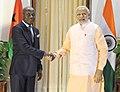 The Prime Minister, Shri Narendra Modi meeting the President of Guinea Bissau, Mr. Jose Mario Vaz, in New Delhi on October 30, 2015.jpg