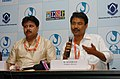 "The Producer and Director of the Assamese film ""MON JAI"", Mr. M. Maniram addressing the press, during the 39th International Film Festival (IFFI-2008), in Panaji, Goa on November 26, 2008.jpg"