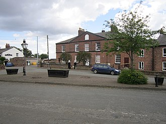 Listed buildings in Ince - The Square, Ince