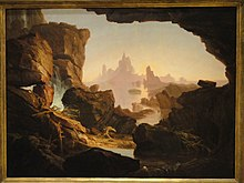 The Subsiding of the Waters of the Deluge, 1829, Thomas Cole - SAAM - DSC00868.JPG