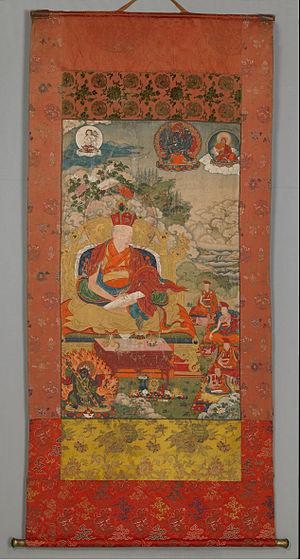 Situ Panchen - Situ Panchen Chögyi Jungney, painting by Chöying Dorje, 10th Karmapa