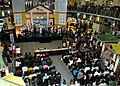 The U.S. Navy 7th Fleet Band performs for Indonesian residents during Cooperation Afloat Readiness and Training (CARAT) 2011 at the Artha Gadang Mall in Jakarta, Indonesia, May 28, 2011 110528-N-NJ145-205.jpg