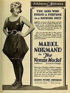 <i>The Venus Model</i> 1918 American silent romantic comedy film