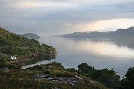 The serene beauty of Loch Torridon (geograph 2468783).jpg