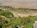 The shore looking down from the lower side of St Patrick's Chapel, Heysham - geograph.org.uk - 438526.jpg