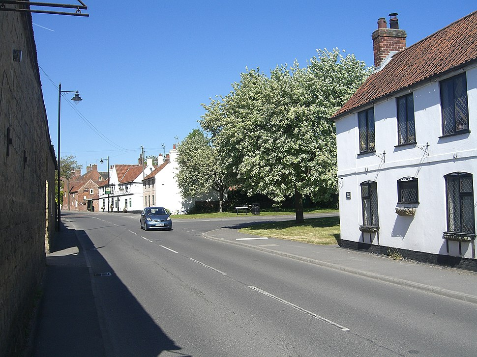 The village of Farnsworth, in Nottinghamshire