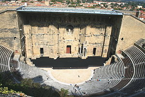 Orange, Vaucluse - The Roman theatre in Orange