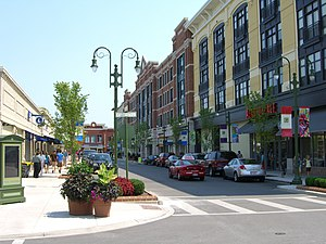 The Greene Town Center - A view of The Greene