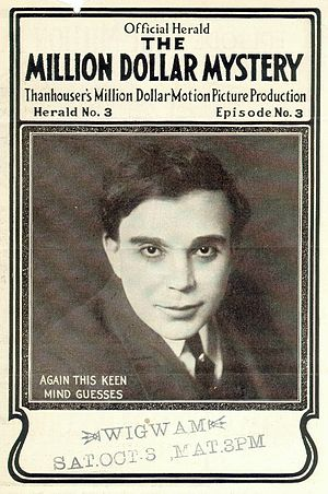 James Cruze - Cruze in The Million Dollar Mystery (1914)
