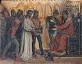 Theophile Lybaert - Pilate condemns Jesus to die.jpg