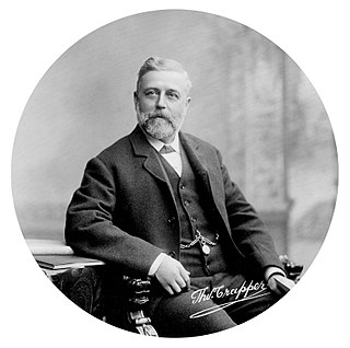 Thomas Crapper British plumber