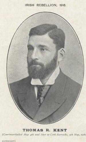 Thomas Kent - Memorial postcard of Thomas Kent