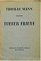 Thomas Mann Dieser Friede 1938.jpg