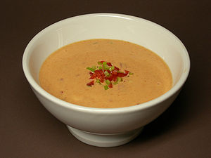 Thousand Island dressing - Thousand island dressing used as a dip.