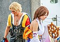 Tidus and Luna FFX Cosplay - MCM Comic Con 2016 (27398643405).jpg