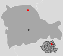 Tirgu Neamt, Neamt Location.png