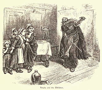 Tituba - Tituba, as portrayed in the 19th century by artist Alfred Fredericks in W.C. Bryant's A Popular History of the United States