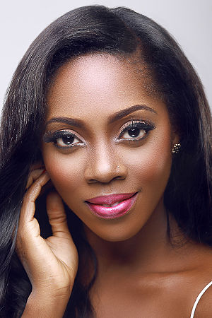 Tiwa Savage - A studio portrait of Tiwa Savage