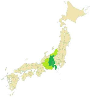 Tōkai–Tōsan dialect