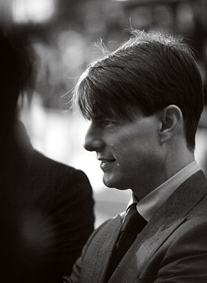 Hubertus Bigend - Image: Tom Cruise Oct 07