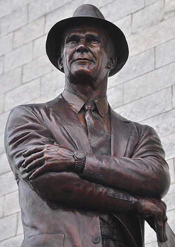 Tom Landry, former head coach of the Dallas Co...