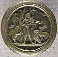 Tomaso di calisto (maestro delle eroiche virtù), orfeo che incanta piante e animali, 1470-1480 circa.JPG