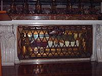 Tumba de Pío X.
