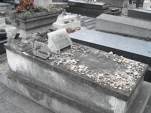 Émile Durkheim - Émile Durkheim's grave in Montparnasse Cemetery