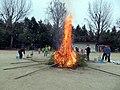 Tondoyaki at Mayumi Elementary School on 12th January 2020.jpg