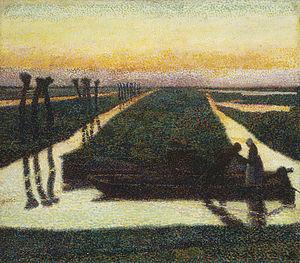 Broek in Waterland (painting) - Image: Toorop broek