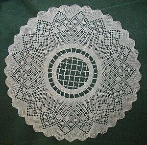 Torchon lace - Image: Torchon Lace (p 16 T3)