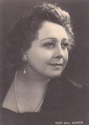 Dal Monte, Toti (1893-1975)