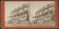 Tourists standing in the verandah of the hotel, Ocean Grove, from Robert N. Dennis collection of stereoscopic views.png