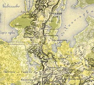 Топографическая карта лехтуси архив