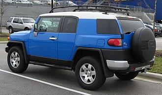 Toyota FJ Cruiser - 2007–2010 Toyota FJ Cruiser (LHD, US)