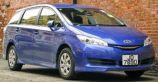 Toyota Wish Motor vehicle