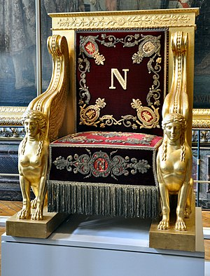 François-Honoré-Georges Jacob-Desmalter - Throne for Napoleon to preside over the Senate, 1804