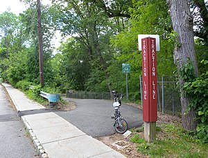 Traction Line Recreation Trail - South end
