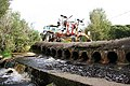 Tractor crossing the ford near Keppernach. - geograph.org.uk - 244287.jpg