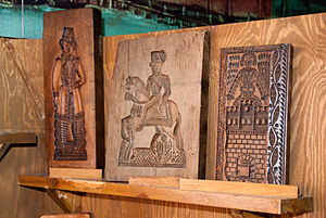 Toruń gingerbread - Traditional wooden gingerbread mold