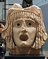Tragic mask dating to the 1st century BC or 1st century AD, Ashmolean Museum (8400677139).jpg