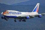 Transaero (Siberian Tiger livery), EI-XLN, Boeing 747-412 (21543280898).jpg