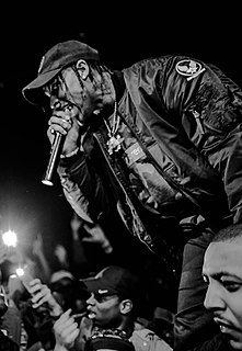 Travis Scott American rapper, singer and record producer from Texas